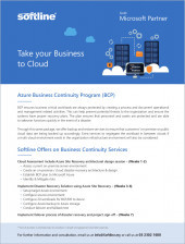 Azure Business Continuity Program (BCP)