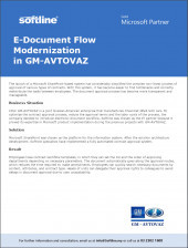E-Document Flow Modernization in GM-AVTOVAZ